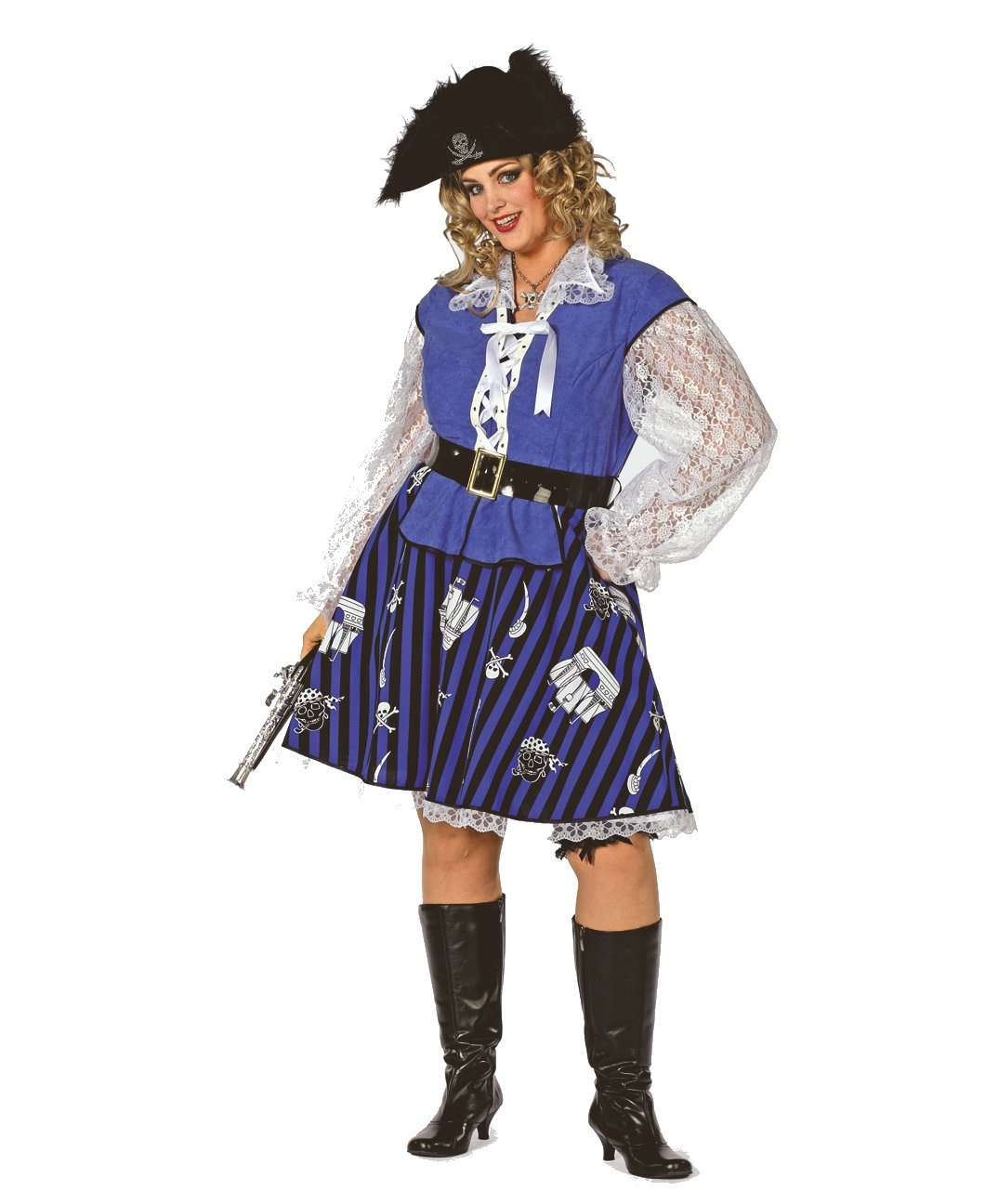 """Blue pirate dame"""