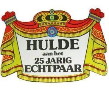Genoeg 25 JARIG JUBILEUMFEEST – Altijd op voorraad bij Feestbeest.nl #XA24
