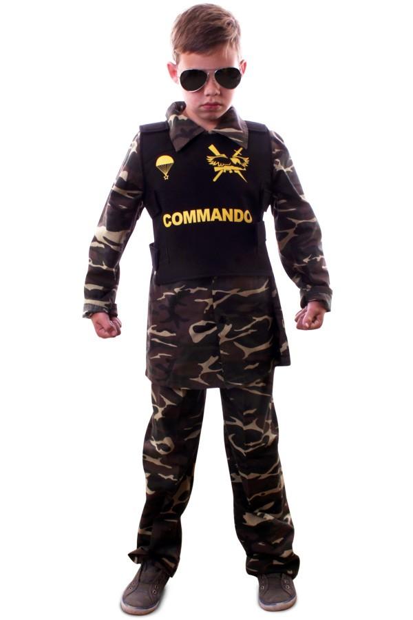 Commando camouflage kinderen