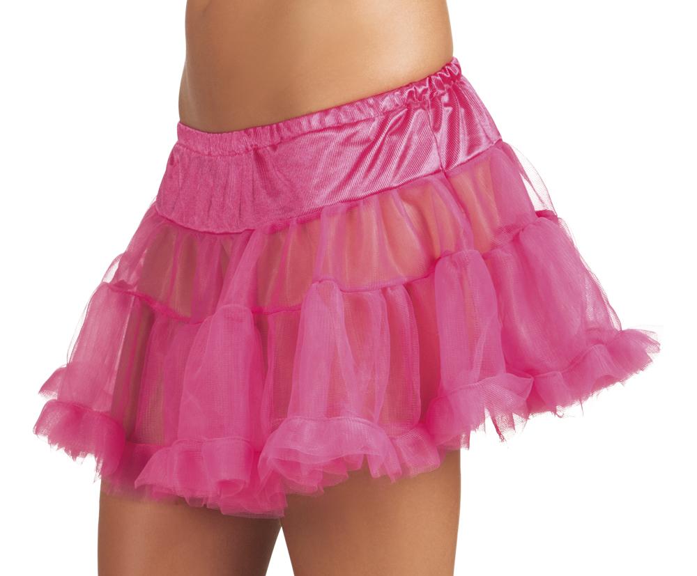 Petticoat knal roze