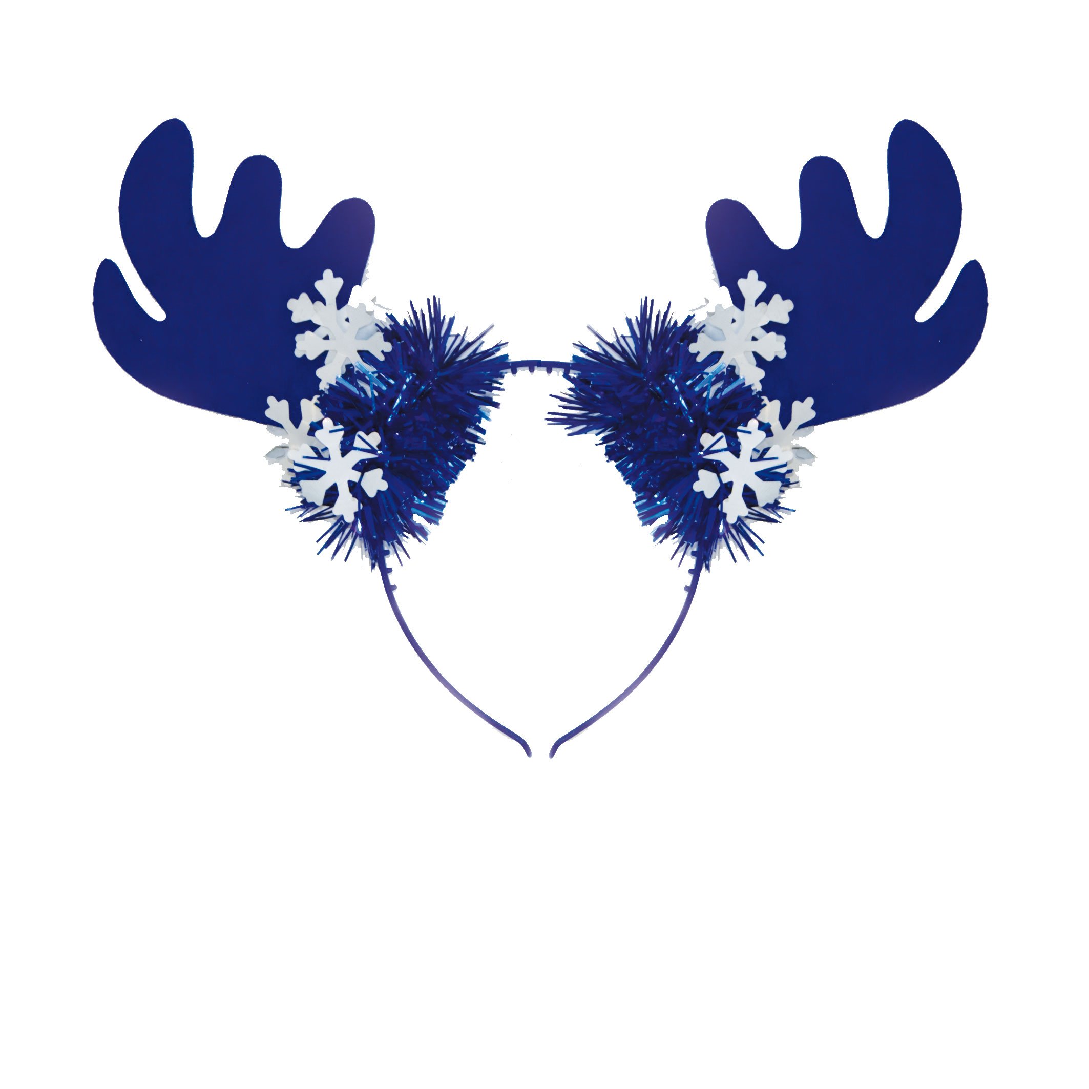 Tiara Rendier Gewei blauw-wit