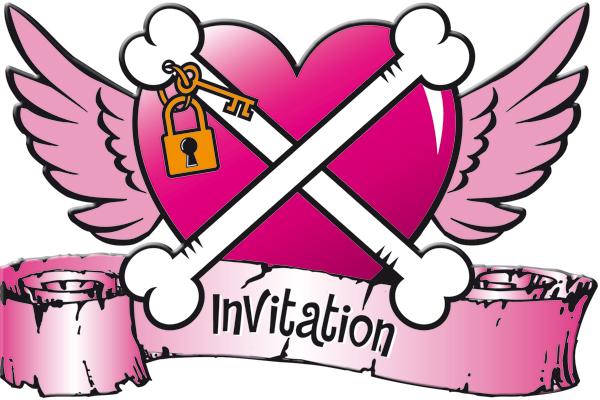 Uitnodiging Pirate girl