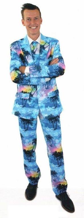 Tropical holiday kostuum voor volwassenen
