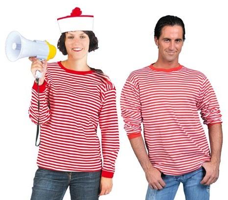 Dorustrui voor volwassenen rood/wit