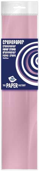 Crêpe papier Zalmroze 2,5m