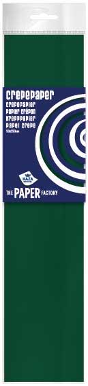 Crêpepapier poly 28 gm²/ 40% / 250x50 donkergroen