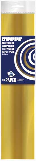 Crepe papier 2,5m goud