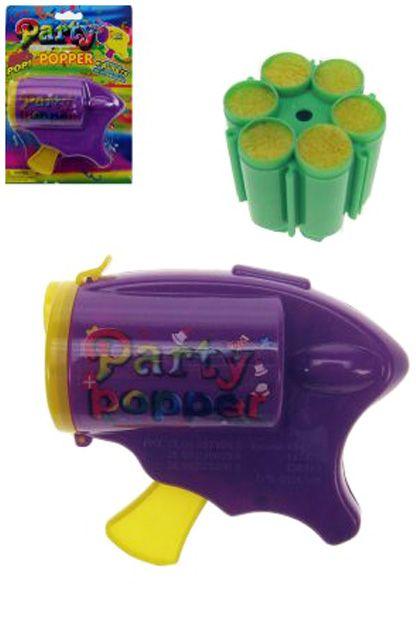 Partypopper gun (Confettipistool)