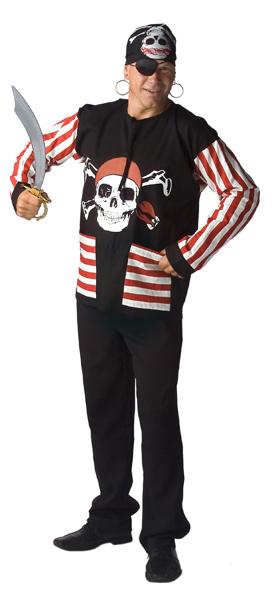 Kiel piraat katoen volwassenen