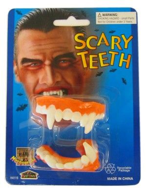 Dracula gebit rubber