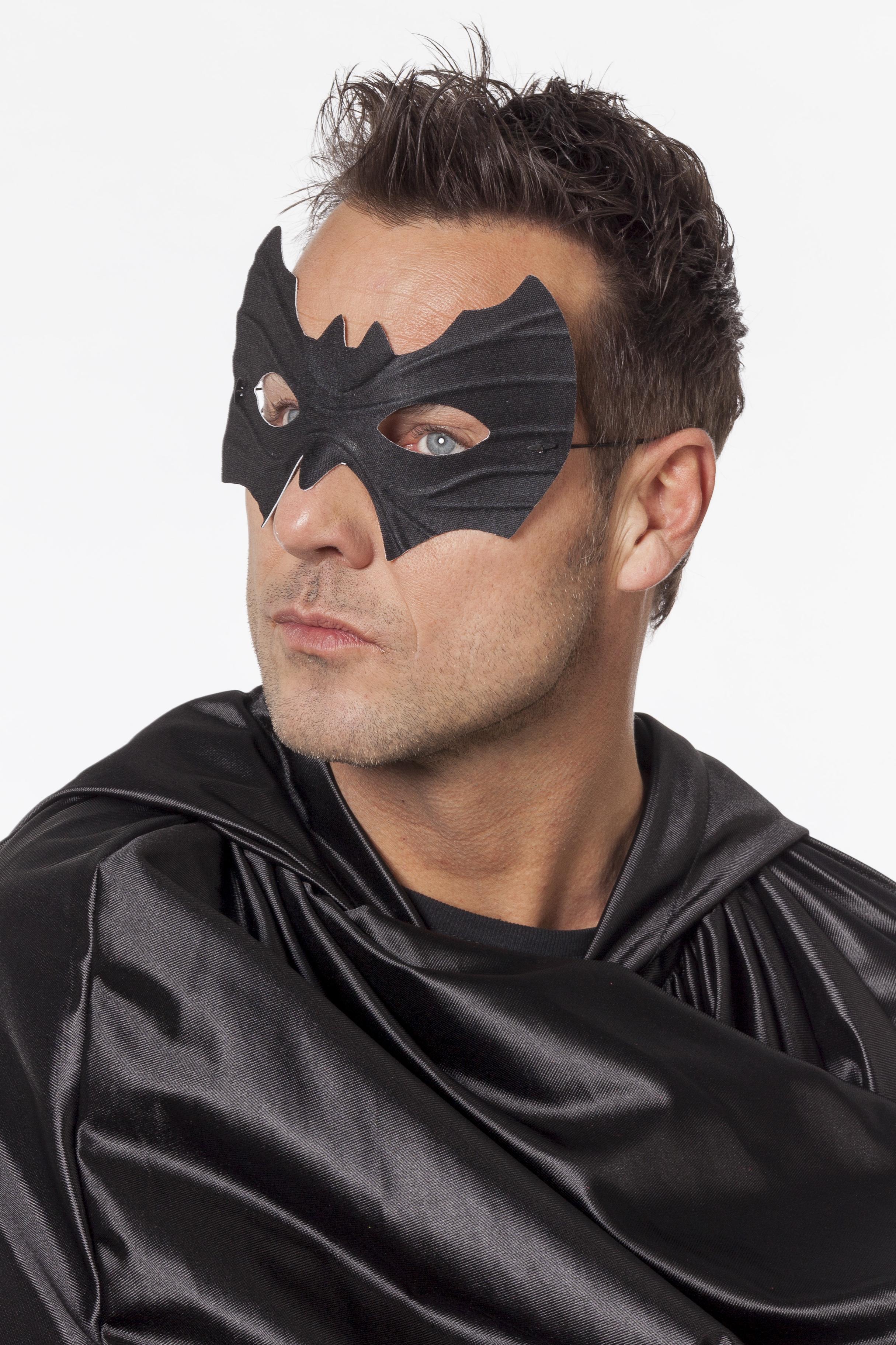 Oogmasker zwart batman