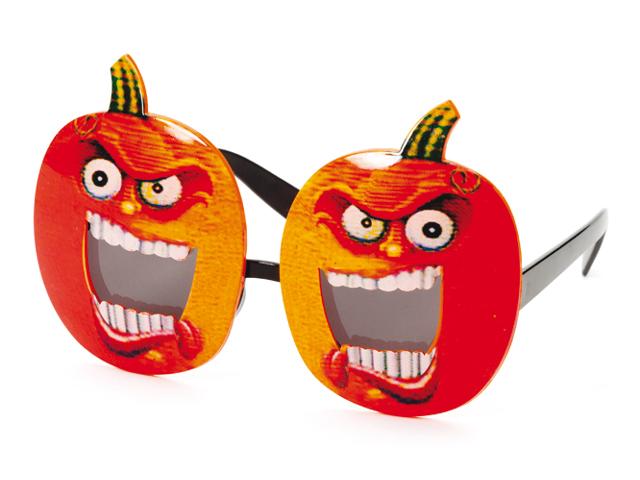 Bril halloween pompoen