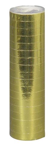 Serpentines metallic goud