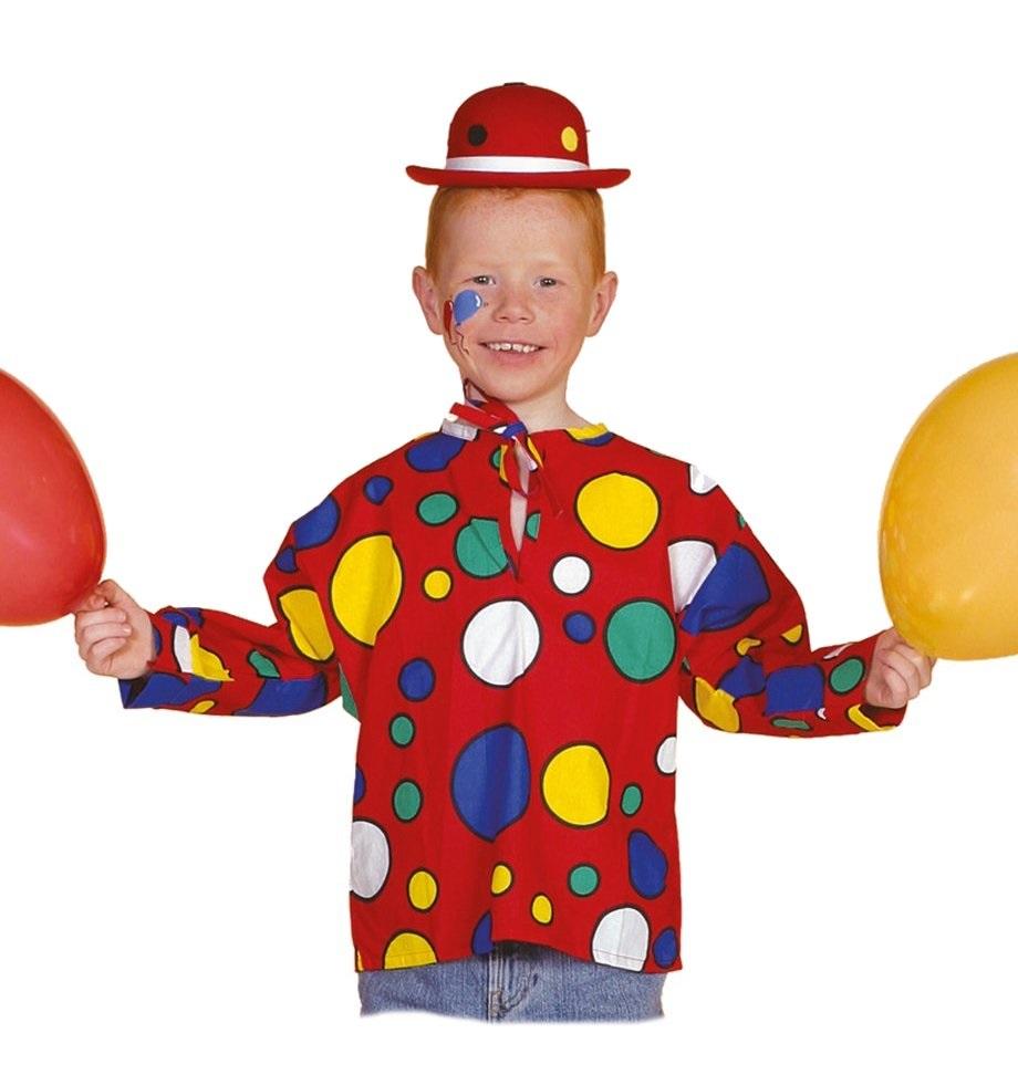 Clownskieltje rood voor kind