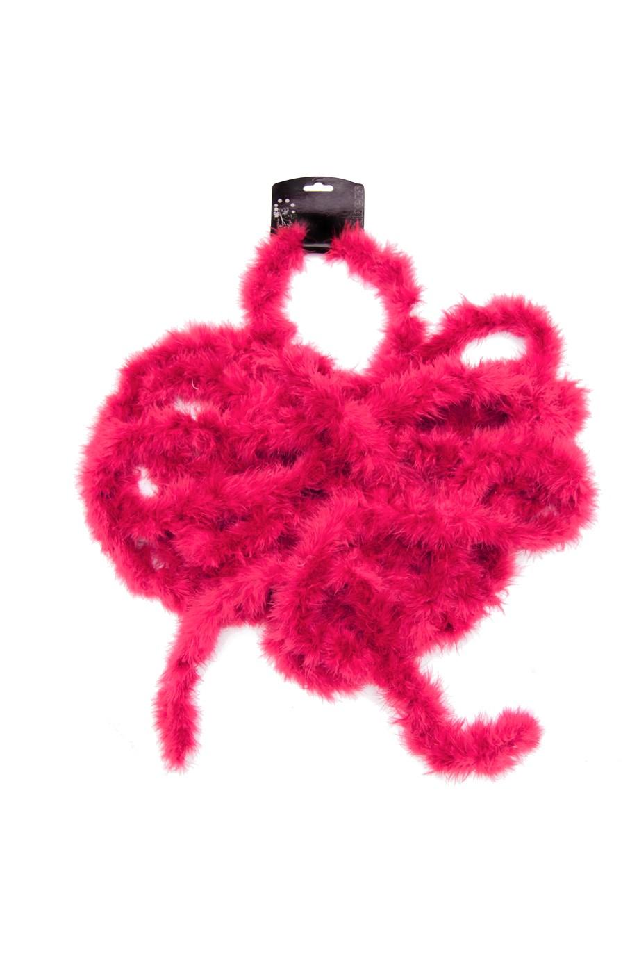 Marabou neon pink 10m