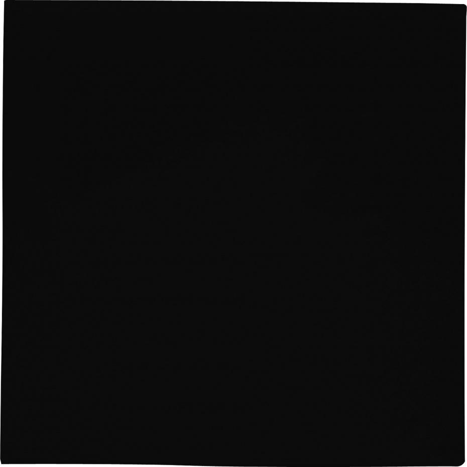 Servetten 33x33 cm zwart 20 stuks