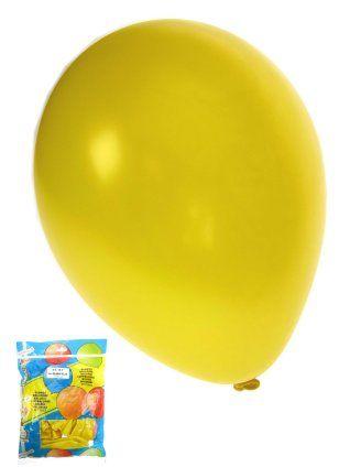 Ballonnen metallic geel 50 stuks 36cm