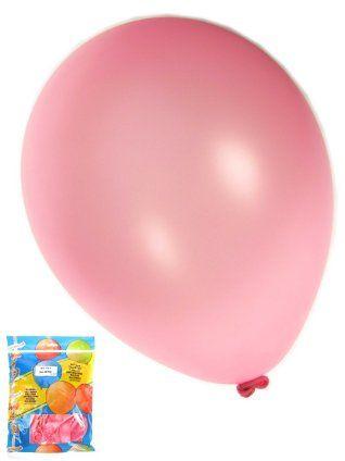 Ballonnen metallic donker roze 50 stuks 36cm