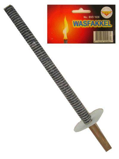 Wasfakkel 39cm per stuk