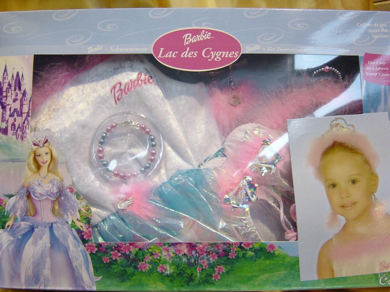 Barbie zwanemeer set 5 delig