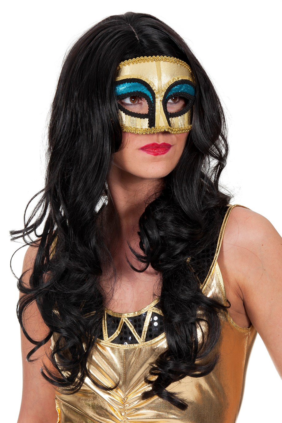Masker Egypte goud luxe (bril)