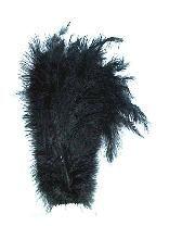 Floss veer zwart±25cm per stuk