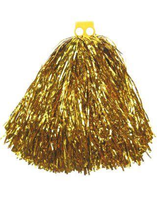 Cheerball met ringgreep goud 80gr per stuk