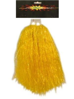 Cheerball ringgreep geel per stuk