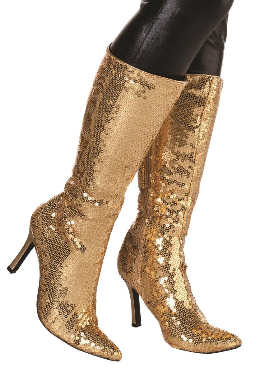Laarzen pailletten goud