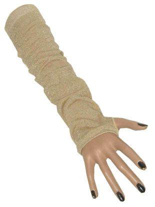 Gala Handschoenen lurex goud