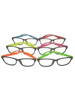 Madonna bril fluor armatuur per stuk per kleur zonder glazen