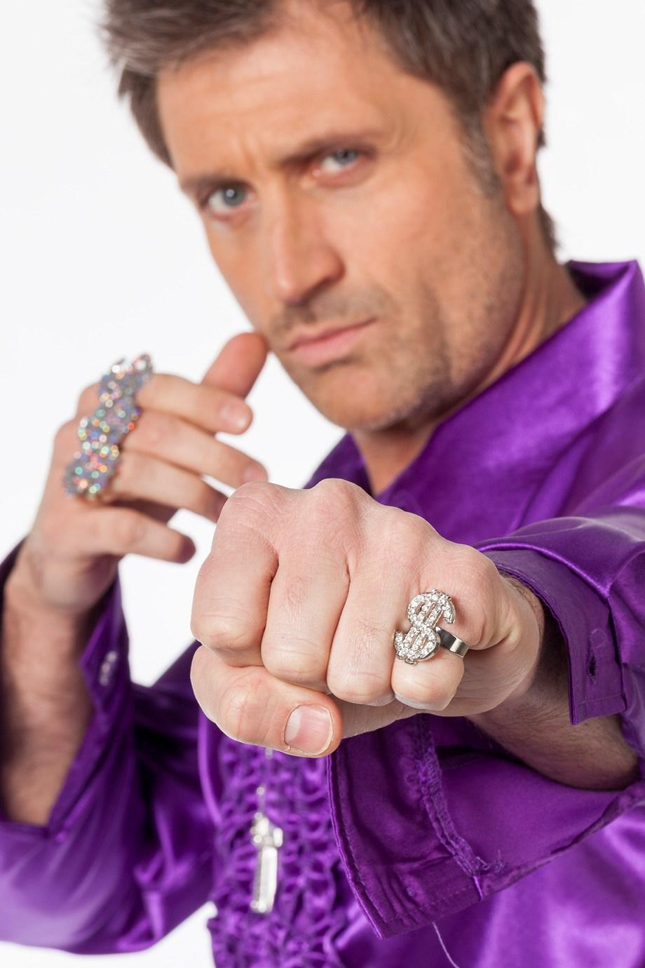 Ring zilver $ diamant de luxe