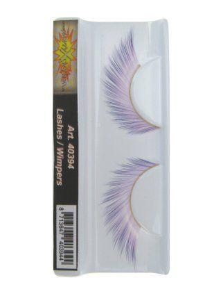 Wimpers zachtroze naar paars