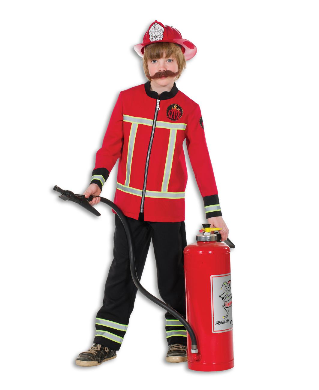 Brandweer kostuum kind luxe