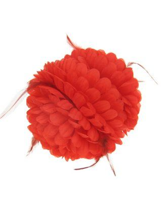 Haarklem rode bloem met besjes