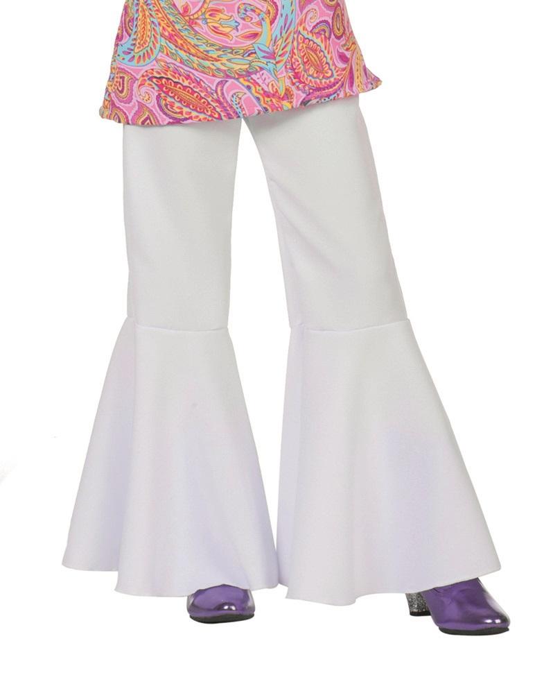 Hippie broek wit voor kind
