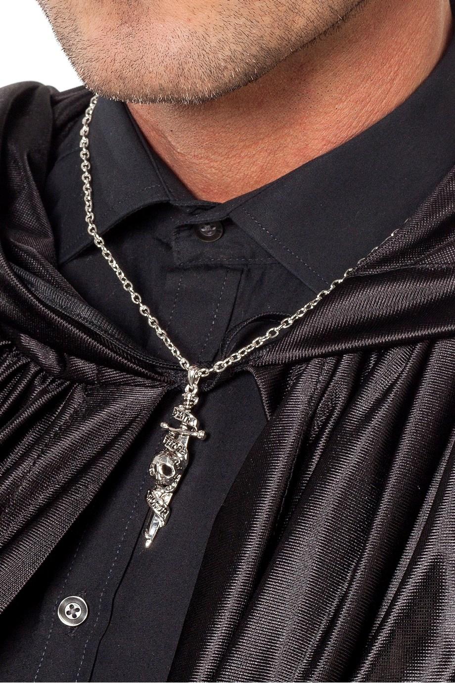 Ketting gothic zwaard