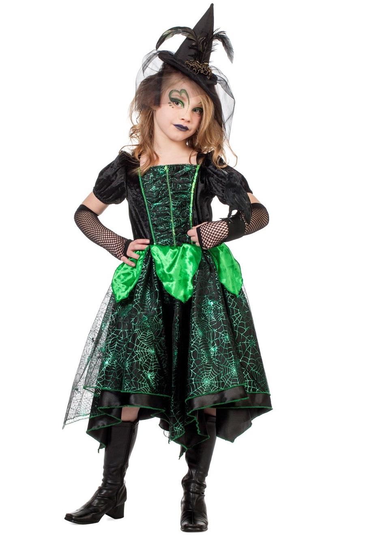 Heksenjurk groen voor kind