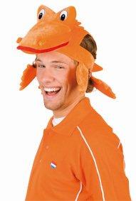 Oranje krokodil pet
