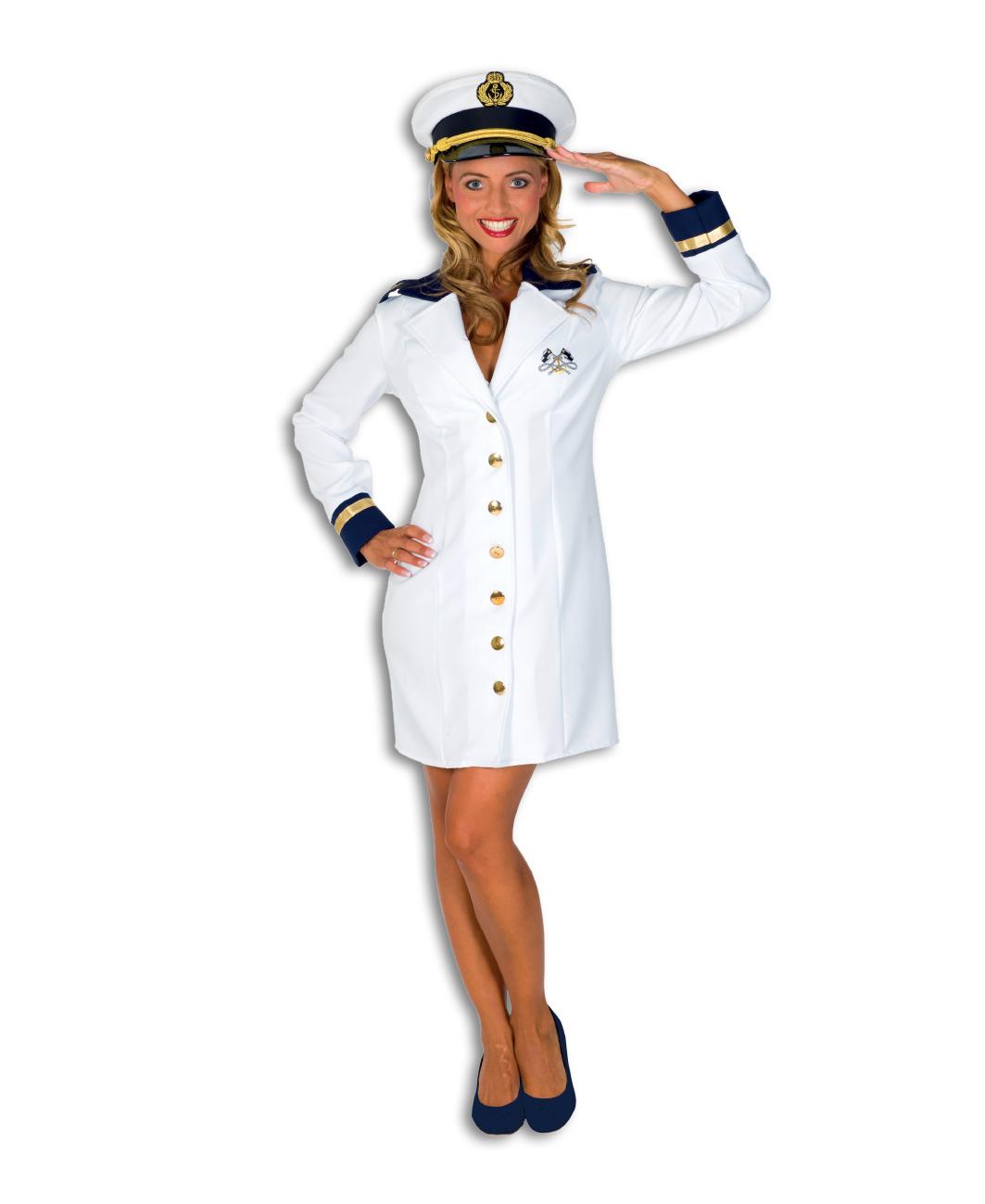 Kapiteins jurk de luxe