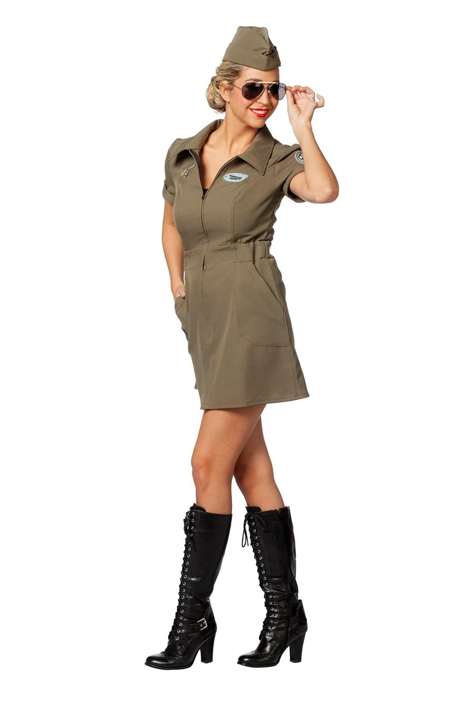 Piloten jurkje voor dame