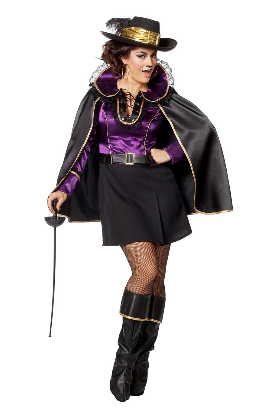 Paarse Kate jurk voor dame