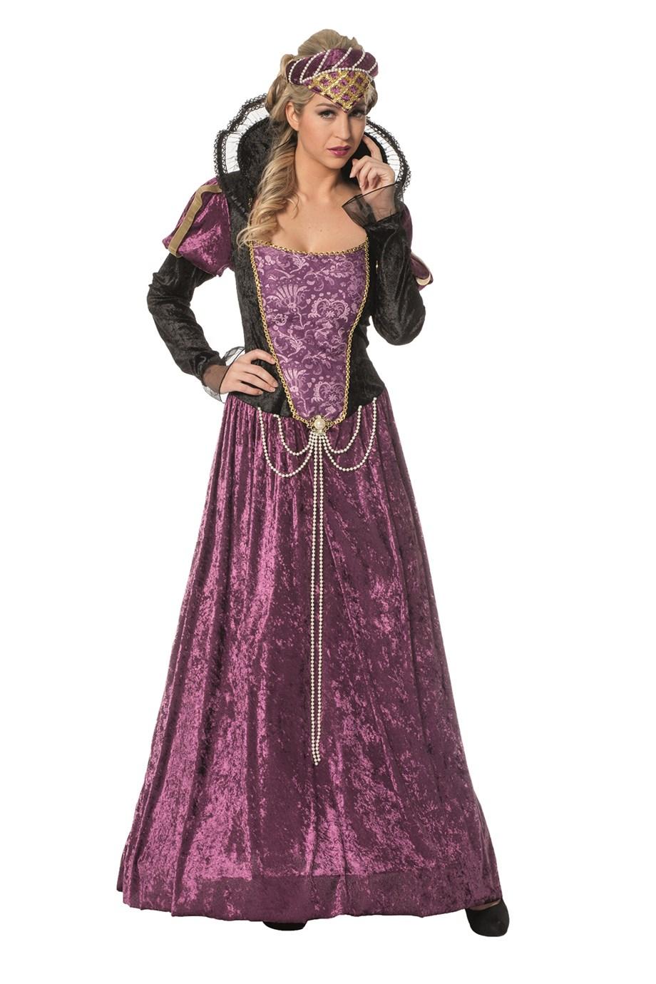 Jonkvrouw Helene lange jurk