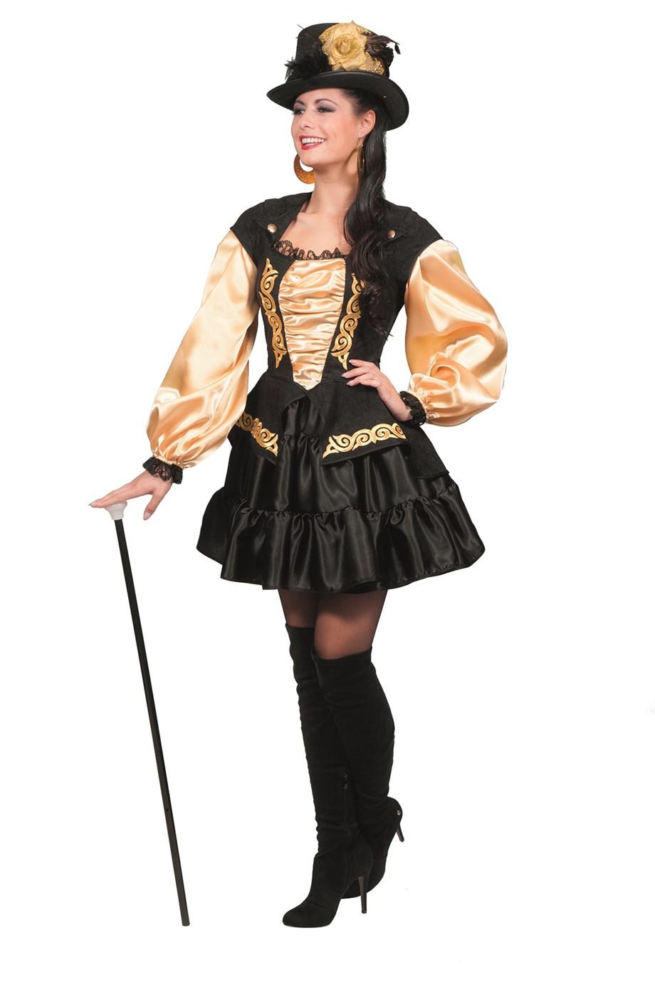 Black Marquisa jurk voor dame
