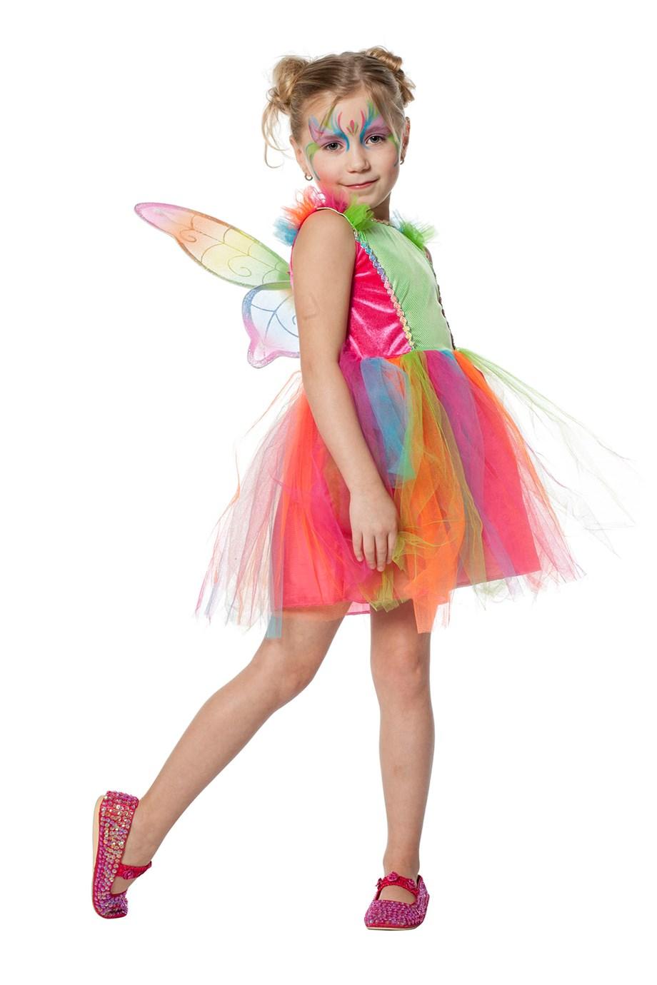 Feetje regenboog voor meisje