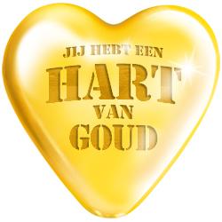 Big Sign Jij hebt een hart van goud