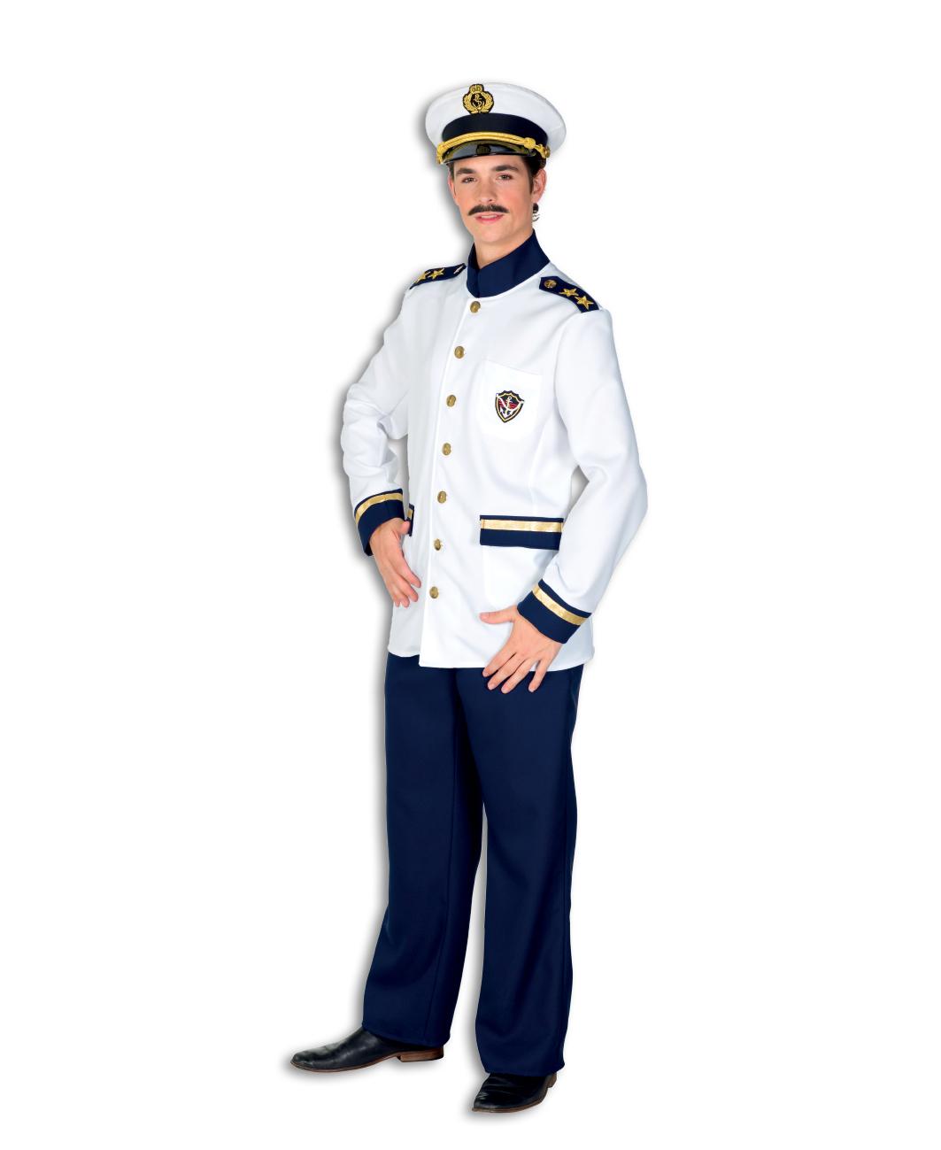 Kapiteins kostuum de luxe voor heer