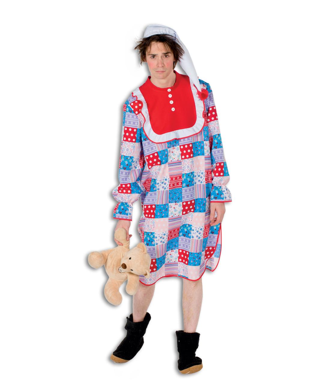 Nachthemd Patchwork voor volwassenen