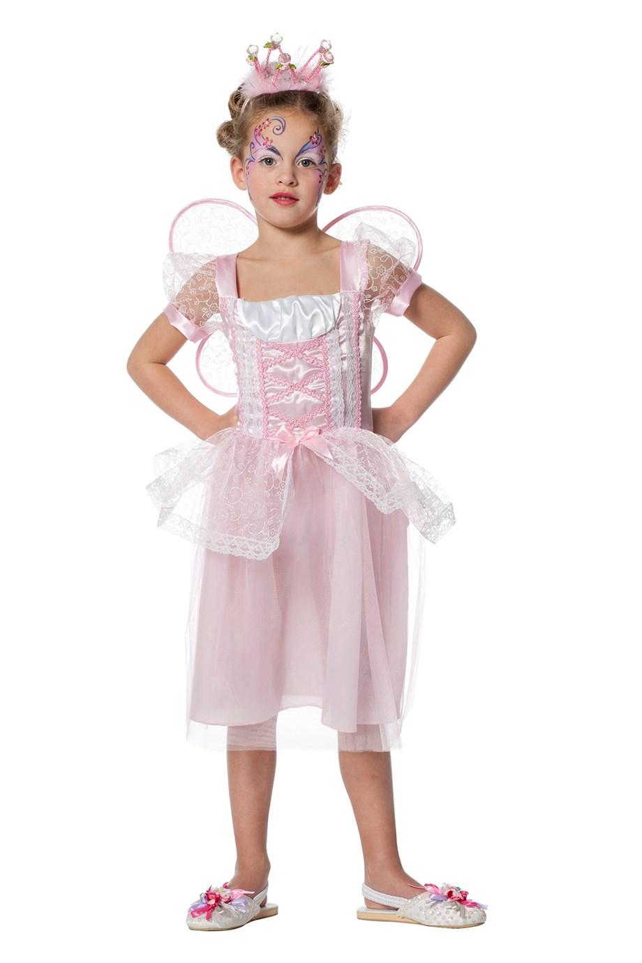 Feetje roze met vleugels voor kind