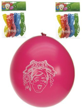 Ballonnen Sarah per 8